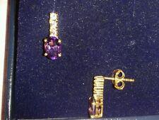 14 Carat Oval Sterling Silver Fine Earrings
