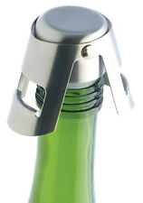1x Stainless Steel Sparking Champagne Bottle Stopper Cap Rubber Sealer Wine Bar