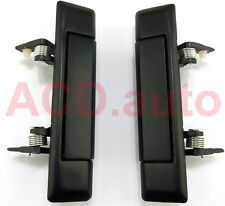 Fit For 80-83 Toyota Land cruiser Outside Door Handle Left Right Black 2pcs NEW