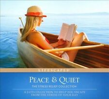 Peace & Quiet: The Stress Relief Collection New 2 CDs Relax Destress Escape!!