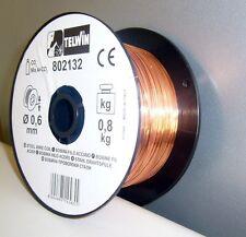 BOBINE FIL SECONDAIRE EN ACIER 0,6 mm de 0,8 KG TELWIN