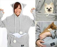 Japanese Mewgaroo Nyangaroo CUTE Cat Dog Pet Casual Unisex Kangaroo Coat Hoodie
