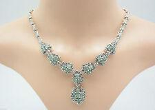 Markenlose Halsketten und Anhänger im Collier-Stil mit Smaragd Echtschmuck