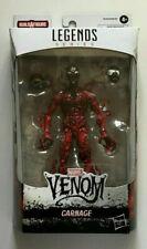"Marvel Legends Venom Series CARNAGE 6"" Figure BAF Venompool Wave 2020 RARE NEW"