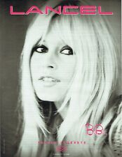 Publicité Advertising 089  2010  Lancel  maroquinerie sac BB Brigitte Bardot*