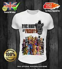 Five Nights At Freddys FNAF optional personalised kids t shirt spooky 2