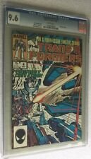 TRANSFORMERS #4 CGC 9.6 MARVEL 1985 WHITE PAGES NEAR MINT+! DINOBOTS CAMEO!