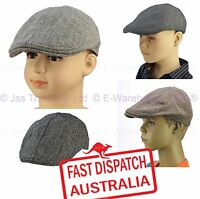 Page Boy Youth Pageboy Newsboy Wedding Costume Driving Golf Ivy 20s Flat Cap Hat