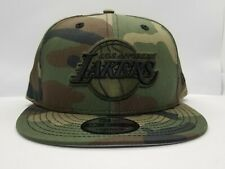NEW ERA 9FIFTY SNAPBACK HAT.  NBA.  LOS ANGELES LAKERS.  CAMOUFLAGE.