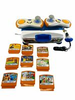 Vtech V.Smile V-Motion Active Learning Console 2 Wireless Controllers 9 games