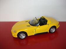 (14.5.15.2) Chrysler Viper RT/10 jaune 1/39 MAISTO Shell