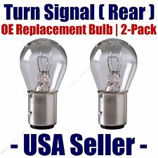 Rear Turn Signal/Blinker Light Bulb 2-pack Fits Listed Jeep Vehicles 198