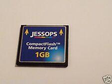 JESSOPS 1gb Scheda CompactFlash CF CARD