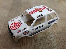 Scalextric Car Spares Metro Turbo MG White C317 Body / Shell