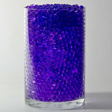 Purple Water Pearls Deco Jelly Beads Centerpiece Wedding Tower Vase Filler 8 oz