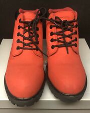 Men's Mountain Gear Red / Black Cruiser Boots Tan Size 10.5