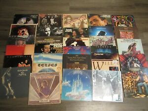 "Vintage Mixed lot (31) 12"" Vinyl Records STARCASTLE, JOURNEY, KANSAS & MORE"
