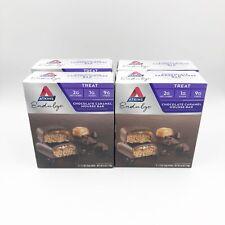 4X Atkins Endulge Treat Chocolate Caramel Mousse Bar 5 Count Box 20 Bars Total
