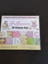 Cute Companions CD Rom Volume One - Designed To Match Rubber Stamps - Craft