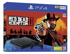 BUNDLE CONSOLE SONY PS4 SLIM 500 GB DUALSHOCK + GIOCO RED DEAD REDEMPTION 2