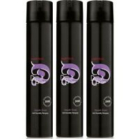 3x Matrix Design Pulse Smooth Shield - Anti-Luftfeuchtigkeits-Haarspray je 400ml