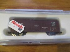 Con-Cor 40' Steel Reefer Canadian National #001-105103 N Scale Train Car