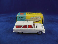 Corgi toys 419 Ford Zephyr Police Motorway Patrol Original & Boxed