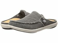 Spenco Women's Canvas Total Support Siesta Slides, Charcoal Grey (Mult. Sizes)