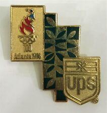 UPS GOLD GREEN ATLANTA 1996 OLYMPICS PIN COLLECT #1125