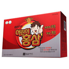 Korean Red Ginseng 6 Year Tonic for Kids Health Saponin Panax 20ml 30 Pouches