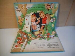 VINTAGE DEAN & SONS LTD MABEL LUCIE ATTWELL'S HAPPY TIMES POP UP BOOK 1961