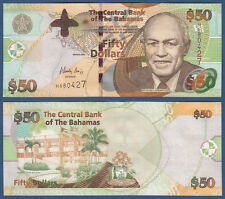 BAHAMAS 50 Dollars 2006  UNC  P. 75