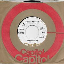 THE RASPBERRIES  Drivin' Around  promo 45 from 1972