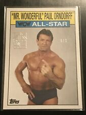 Mr Wonderful Paul Orndorff 2019 Topps WWE Transcendent VIP Party Heritage 1/1