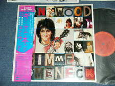 RON WOOD ROLLING STONES Japan 1979 NM LP+Obi GIMME SOME NECK