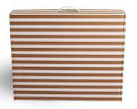 Wedding dress storage Air Travel box GOLD & White or BLACK & White +  AF tissue