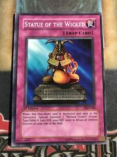 Yugioh Statue of The Wicked PGD-046 Super Rare 1st Edition NM