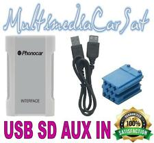 Phonocar 5/887 Interfaccia USB AUX SD MP3 Musica Fiat Grande Punto Iphone