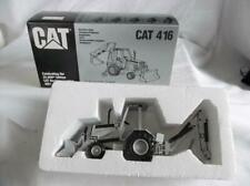 Ltd Edition NZG 285.2 Silver Caterpillar 416 Backhoe Loader w/ROPS  S/N 200 MINT