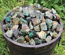 1 Piece of Natural Rough Chrysocolla, A Grade (Raw Blue Green Crystal Gemstone)