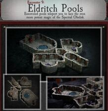Dwarven Forge ELDRITCH POOLS Dungeons of Doom 2018 w/Painted-Magnets - D&D Tiles