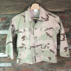 Youth Ripstop Military Outdoor Clothing Desert Camo Size M 10-12 Jacket Shirt