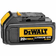 2 x Dewalt 20V Max 18V Lithium Ion 3 Amp Battery - DCB200