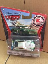 DISNEY CARS DIECAST Nigel Gearsley With Metallic Finish - Silver Racer Series