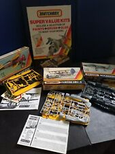3 x MATCHBOX Vintage Unmade  1/72 scale MODEL KITS and SHOP DISPLAY SIGN