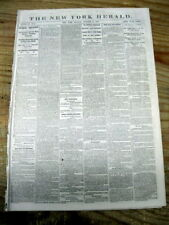1863 CIVIL WAR newspaper ABRAHAM LINCOLN PROCLAMATION Calling for More Troops