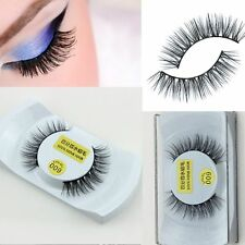 Lady Natural New 1 Pair Charming Long EyeLashes False Eyelashes 100% Rea Mink