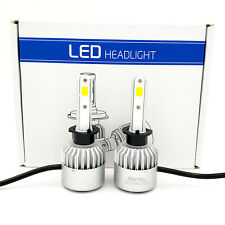 1300W 195000LM H1 LED Headlight Kit Low Beam Light Bulbs 6000K White High Power