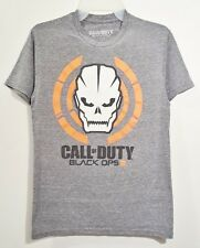 CALL OF DUTY - BLACK OPS III 3 T-SHIRT (SMALL GRAY 1-SIDED) VIDEO GAME TEE VG++