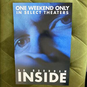 Bo Burnham Inside (Netflix) - Poster from Limited Theatrical Screenings